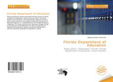 Bookcover of Florida Department of Education