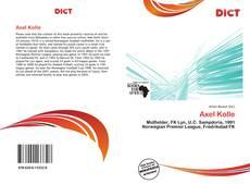 Buchcover von Axel Kolle