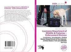 Portada del libro de Louisiana Department of Wildlife & Fisheries – Enforcement Division