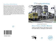 Bookcover of Hauz Khas (Delhi Metro)