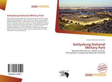 Bookcover of Gettysburg National Military Park
