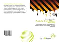 Borítókép a  Australia–United States Relations - hoz
