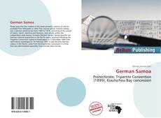 Bookcover of German Samoa