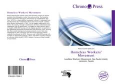 Portada del libro de Homeless Workers' Movement