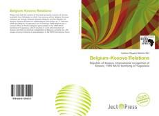 Portada del libro de Belgium–Kosovo Relations