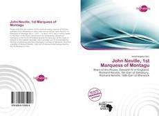 Buchcover von John Neville, 1st Marquess of Montagu