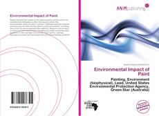 Bookcover of Environmental Impact of Paint
