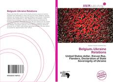 Bookcover of Belgium–Ukraine Relations