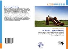 Portada del libro de Durham Light Infantry