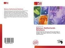 Buchcover von Belarus–Netherlands Relations