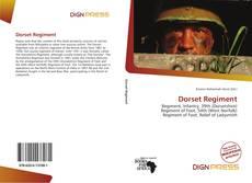 Bookcover of Dorset Regiment