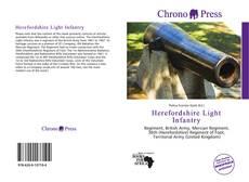 Copertina di Herefordshire Light Infantry