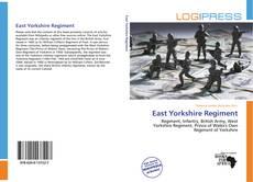 Bookcover of East Yorkshire Regiment