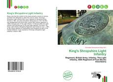Portada del libro de King's Shropshire Light Infantry
