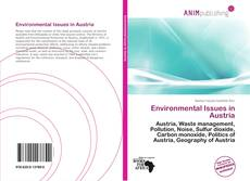 Bookcover of Environmental Issues in Austria