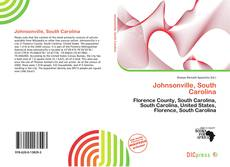 Bookcover of Johnsonville, South Carolina