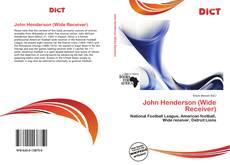 Buchcover von John Henderson (Wide Receiver)