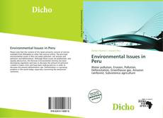 Bookcover of Environmental Issues in Peru
