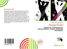 Bookcover of George Crumb