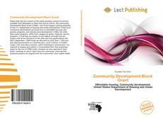Bookcover of Community Development Block Grant
