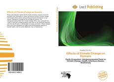 Capa do livro de Effects of Climate Change on Humans