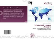 Couverture de Greece–New Zealand Relations