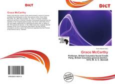 Bookcover of Grace McCarthy