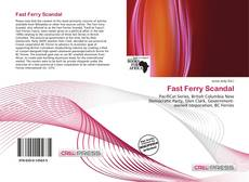 Bookcover of Fast Ferry Scandal