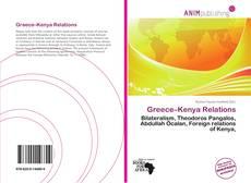 Couverture de Greece–Kenya Relations
