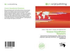 Couverture de Greece–Kazakhstan Relations