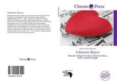 Bookcover of Johanna Beyer