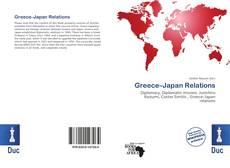 Capa do livro de Greece–Japan Relations