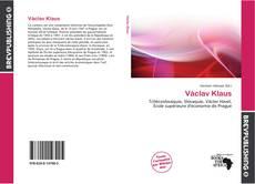 Обложка Václav Klaus