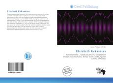 Bookcover of Elizabeth Kekaaniau