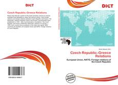 Bookcover of Czech Republic–Greece Relations