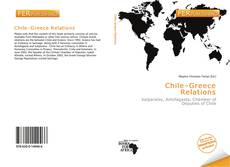 Bookcover of Chile–Greece Relations