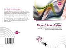 Обложка Marsha Coleman-Adebayo