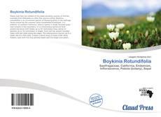 Buchcover von Boykinia Rotundifolia