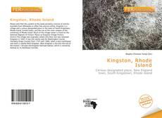 Bookcover of Kingston, Rhode Island