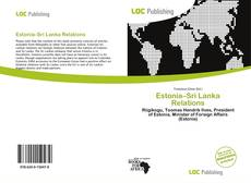 Estonia–Sri Lanka Relations kitap kapağı
