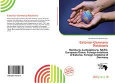 Copertina di Estonia–Germany Relations