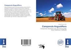 Campanula Angustiflora kitap kapağı