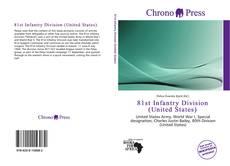 Capa do livro de 81st Infantry Division (United States)