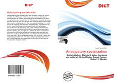 Bookcover of Anticipatory socialization