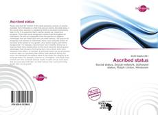 Bookcover of Ascribed status