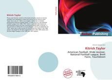 Couverture de Kitrick Taylor