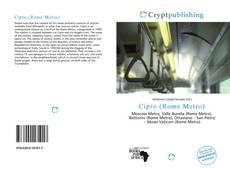 Bookcover of Cipro (Rome Metro)
