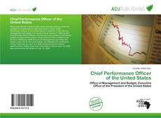 Buchcover von Chief Performance Officer of the United States