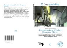 Burnakovskaya (Nizhny Novgorod Metro) kitap kapağı