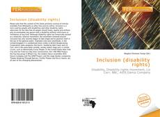 Bookcover of Inclusion (disability rights)
